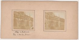 H7 Photo Stéreoscopique Recto-verso -vers 1900 AIX Les BAINS Abbaye Hautecombe CORNIN - Photos Stéréoscopiques