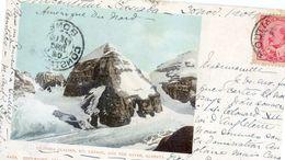 Canada - Alberta - Victoria Glacier, Mt Lefroy, And The Mitre - Alberta
