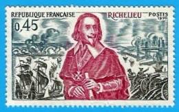 Francia. 1970. YT # 1655. Richelieu - Usados