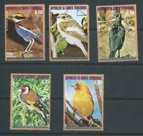 Equatorial Guinea 1976 African Birds Part Set 5 FU - Andere