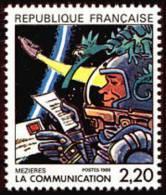 France Espace N° 2511 ** Vue Par Mezières «La Communication» - Space