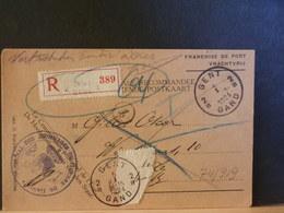 74/919   CP  RECOMM. 1924 - Belgique