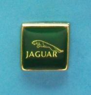 1 PIN'S //   ** LOGO ** JAGUAR ** AUTOMOBILE ANGLAISE ** - Jaguar