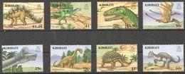 F135 KIRIBATI PREHISTORIC ANIMALS DINOSAURS 1SET MNH - Prehistorics