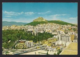 Greece - Athens View Of Lycabette From The Stadium [Kruger 985/11] - Grecia