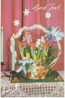 Norway Christmas Card Sent To Sweden Ulvik I Hardanger 18-12-1964 - Norwegen