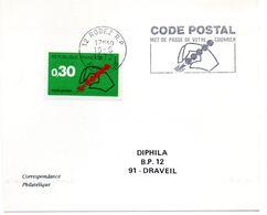 AVEYRON - Dépt N° 12 = RODEZ  RP 1972 = FLAMME CONCORDANTE = SECAP Multiple ' CODE POSTAL / Mot Passe' - Code Postal