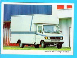 Cp Carte Postale  - Mercedes 307 D Fourgon Meubles - Cartoline