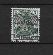 LOTE 1637 /// ALEMANIA IMPERIO   YVERT Nº: 67  CON FECHADOR DE WANNSEE - Alemania