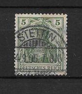 LOTE 1637 /// ALEMANIA IMPERIO   YVERT Nº: 67  CON FECHADOR DE STETTIN - Alemania