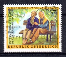 Austria - 1999 - International Year Of The Elderly - Used - 1945-.... 2nd Republic