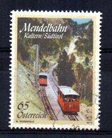 Austria - 2010 - Mendel Railway Centenary - Used - 1945-.... 2nd Republic