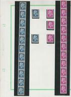 Roulette N°57 Du 30 C. Cheffer Lilas+timbre N°rouge Au Verso - Roulettes