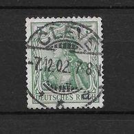 LOTE 1637 /// ALEMANIA IMPERIO   YVERT Nº: 67  CON FECHADOR DE CLEVE - Alemania