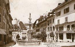 (60) CPA Porrentruy  Rue De La Poste   (Bon Etat) - JU Jura