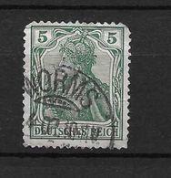 LOTE 1637 /// ALEMANIA IMPERIO   YVERT Nº: 67  CON FECHADOR DE WORMS - Alemania
