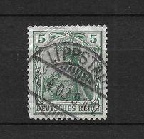 LOTE 1637 /// ALEMANIA IMPERIO   YVERT Nº: 67  CON FECHADOR DE LIPPSTAUL - Alemania