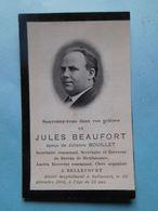 Décès Jules Beaufort  Bellecourt 1850 / 1902  Manage - Décès