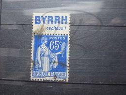 """VEND BEAU TIMBRE DE FRANCE N° 365 + BANDE PUBLICITAIRE """" BYRRH """" !!! (i) - Publicités"""