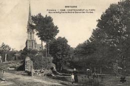 FRANCE - (29) FINISTERE - CHATEAUNEUF-DU-FAOU - Nouvelle Eglise De Notre-Dame- Des -Portes (n°1298). - Châteauneuf-du-Faou