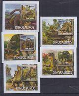 D62. MNH Guine-Bissau Nature Animals Prehistoric Animals - Prehistorics