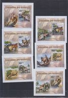 D62. MNH Guine-Bissau Nature Animals Prehistoric Animals Dinosaurs - Prehistorics