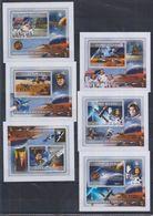 D62. MNH Guine-Bissau Space Spaceships Astronauts Mars - Espace