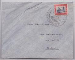 SWA Suidwes Afrika Deutsche Kolonien Swakopmund Bathing Health Resort 1938 Brief Windhoek IIIe Reich Cover Africa WW2 - Colony: German South West Africa