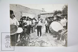 Vintage Real Press Photo From Tilcara, Argentina - Banda De Sikuris - Fotos