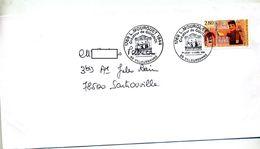 Lettre Cachet Villeurbanne Mourguet Créateur Guignol - Marcophilie (Lettres)