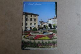 SAINT JUNIEN - Fontaine Fleurie Au Centre Ville ( 87 Haute Vienne ) - Saint Junien