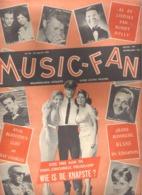 MUSIC FAN  NR 30 VAN 10 AUGUSTUS 1963 - CLIFF - ELVIS - BOB BENNY - GITTE - NEDERLANDS  (MF 30 ) - Magazines & Newspapers