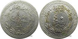 Empire Ottoman - Mehmed VI - 40 Para AH1327/4 (1911) - TTB - Mon2653 - Monnaies
