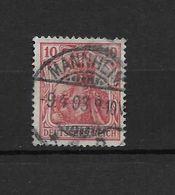 LOTE 1638 /// ALEMANIA IMPERIO   YVERT Nº: 69  CON FECHADOR DE MANNHEIM - Alemania