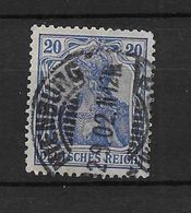 LOTE 1638 /// ALEMANIA IMPERIO   YVERT Nº: 70  CON FECHADOR DE NIENBURG - Alemania