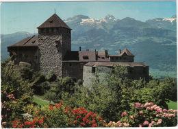 Schloss Vaduz - Landesfürstliche Residenz ; Blick Zum Margelkopf - (Ft. Liechtenstein) - Liechtenstein