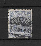 LOTE 1638 /// ALEMANIA IMPERIO   YVERT Nº: 70  CON FECHADOR DE STETTIN - Alemania