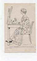 CPA Illustrateur Touraine Publicité La Gyraldose Est Le Meilleur Des Produits Pour Les Soins Intimes Femme Toilette - Illustrateurs & Photographes