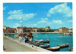NOVIGRAD:  IL  PORTO  -  PER  L' ITALIA  -  FG - Croazia