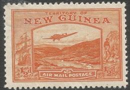 New Guinea. 1932 Air. Bulolo Goldfields. ½d MH. SG 212 - Papua New Guinea
