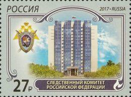 Russia, 2017, Mi. 2484, Sc. 7858, Investigative Committee Of Russia, MNH - 1992-.... Federation