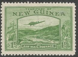 New Guinea. 1932 Air. Bulolo Goldfields. 1d MH. SG 213 - Papua New Guinea