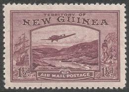 New Guinea. 1932 Air. Bulolo Goldfields. 1½d MH. SG 214 - Papua New Guinea