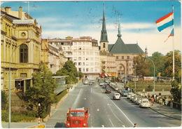 Luxembourg: MAGIRUS DEUTZ TRUCK, 2x VW 1200 KÄFER/COX, 2x CITROËN 2CV & AMI 6, PEUGEOT 404 - Bld. Roosevelt - PKW