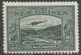 New Guinea. 1932 Air. Bulolo Goldfields. 5d MH. SG 218 - Papua New Guinea