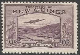 New Guinea. 1932 Air. Bulolo Goldfields. 9d MH. SG 220 - Papua New Guinea