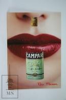 Advertising Postcard - Campari - Red Passion - Red Lips - Publicidad