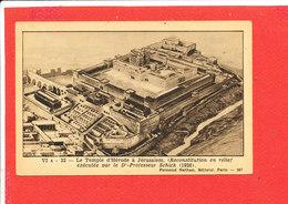 JERUSALEM Cpa Temple D ' Hérode          VI A 22 Nathan - Palestine