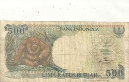 BANK INDONESIA - 500 RUPIAH . 1992 -  N° BQF 409598  . 2 SCANES - Indonesia