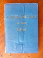 AGENDA-BUVARD Du BON MARCHE 1909. Illustrations De BENJAMIN RABIER & Autres. Nombreuses Informations Variées. 224 Pages - Calendriers